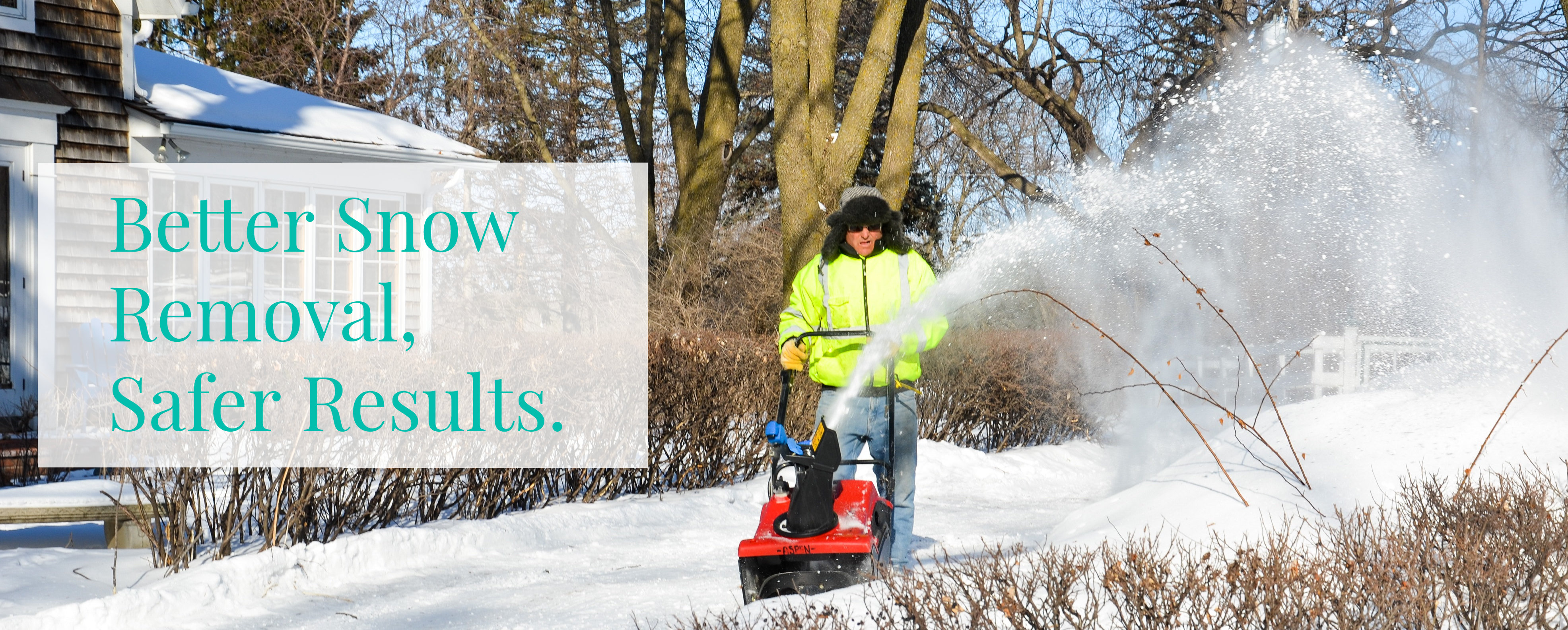Snow Blowing Cover 3